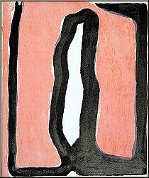 Bram van Velde: Crime d'une nuit Original Lithograph, signed - 1973