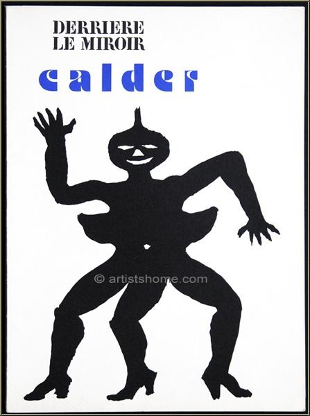 Alexander calder 1975 derriere le miroir 212 original for Alexander calder derriere le miroir