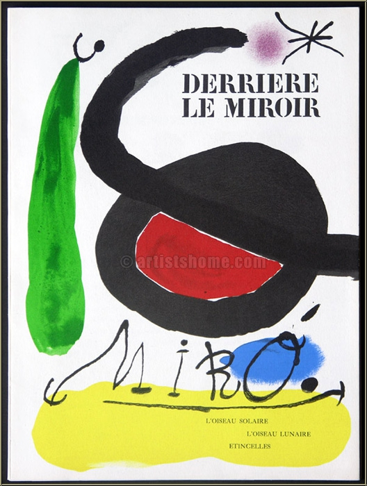 Sold out artistshome for Miro derriere le miroir