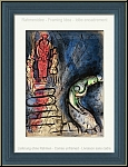 Marc Chagall: Ahasuerus Sends Vasthi Away, Original Lithograph Bible