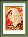 Marc Chagall: Rachel Steals Her Father's Graven Images, The Bible 1960 - Original Lithographs | Prints