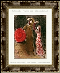 Marc Chagall: Meeting of Ruth and Boaz, 1960, Original Lithograph for Verve Bible - Limited Edition Prints