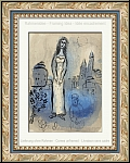 Marc Chagall: Esther, 1960, Original Lithograph, Illustrations for the Bible - Genuine Prints | Graphic work