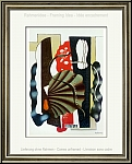 Fernand Leger: Nature morte, 1955 - Cubistic Still Life, Lithograph