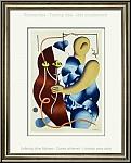 Fernand Léger: Femme tenant une fleur (Woman with Flower) 1955 - Lithographs Mourlot | Limited Edition Prints