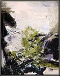Zao Wou-Ki: Original Lithograph, Paysage (Landscape), Mourlot 1971