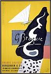Georges Braque: Berggruen & Cie, 1953, Braque Graveur, Lithograph
