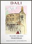 Salvador Dali: Gala's Castle, Teatro Museo Figueras, Mourlot Poster