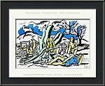 Fernand Léger: 'La Partie de Campagne' (Excursion to the countryside) 1951, Lithograph Verve - Limited edition