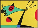 Joan Miro: Peacock Feathers, 1956, Original Lithograph (Mourlot)