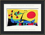 Joan Miro: Original Lithograph from 1956 'Peacock Feathers', printed by Mourlot - Limited Edition Prints