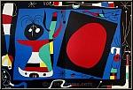 Joan Miro: Femme au miroir, 1956, Original Lithograph, Mourlot