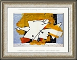 Georges Braque: 'L'oiseau jaune' The Yellow Bird, 1959, Lithograph Mourlot | Limited Edition Prints Maeght