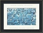 Joan Miro: Blue Labyrinth, 1956, Original Lithograph, symbolic language of Miro | Graphic Works | Prints
