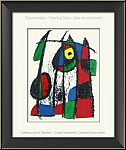 Joan Miro: Curious Little Kitten, 1975, Original Lithograph VII