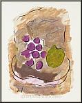 Georges Braque: Original Lithograph, Still Life, 1962, Kronenhalle
