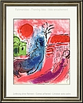 Marc Chagall: Original Lithograph Maternity with Centaur, 1957