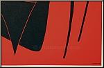 Alexander Calder: Galerie Maeght 1959 Stabile noir Lithograph Poster