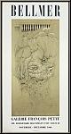 Hans Bellmer: Lithographic Poster Galerie Francois Petit 1966, Mourlot