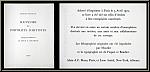 Fernand Mourlot's portfolio 'Souvenirs et portraits d'artistes' - title page and excerpt from the colophon