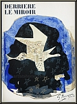 Georges Braque: Derriere le miroir 115 with 9 Lithographs, 1959
