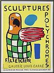 Fernand Léger: Poster Sculptures polychromes, Galerie Louis Carré 1953