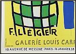 Fernand Léger: Original Poster Sculptures polychromes, Galerie Louis Carré 1953, Lithograph | Mourlot Posters