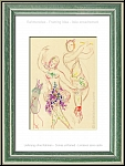 Marc Chagall: The Ballet, Daphnis and Chloe, 1969, original lithograph featuring a dancing scene | Prints