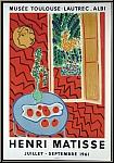 Henri Matisse: Poster Musée Toulouse-Lautrec Albi, 1961, Lithograph