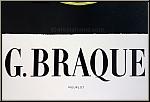 Georges Braque: Original Mourlot Poster 'Theogonie', Galerie Maeght, 1954 - Vintage Exhibition Posters