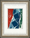 Ernst Wilhelm Nay: Original Etching Aquatint in colors 1965-7 (Gabler 81), New Year greeting 1965 - Prints