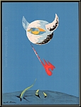 André Masson: The Moon 1938, Original Lithograph Verve avant-garde Art