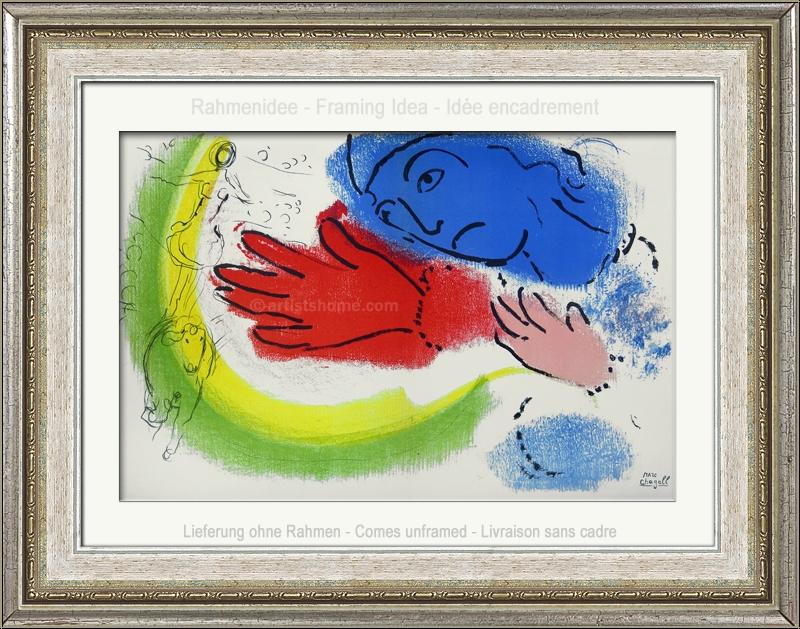 Marc Chagall: Woman Circus Rider, L\'écuyère, 1956, Original ...